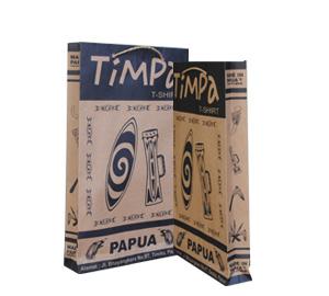Tas Kertas Kaos Timpa Papua