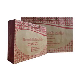 Tas Kertas Rumah Batik Aisha Madura