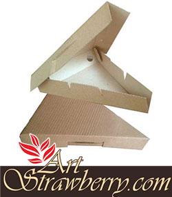 Kotak Pizza Segitiga (15x5x20)cm