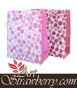 Taskertas 2 Bunga Lili (19x8x23)cm