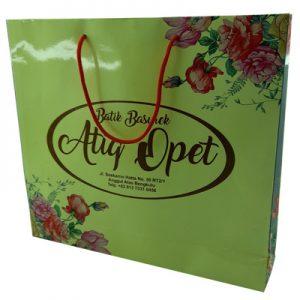 Tas Kertas Kantong Kertas Paperbag Indah Untuk Batik Bengkulu
